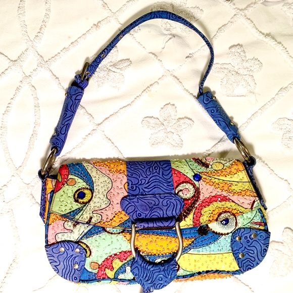 Designer Christina Vintage Shoulder Bag